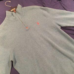 Polo Ralph Lauren mens sweater half zip pullover